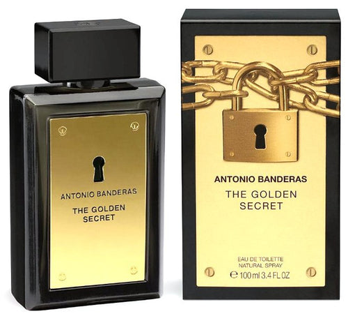 The Golden Secret For Men Edt 3.4oz Spray