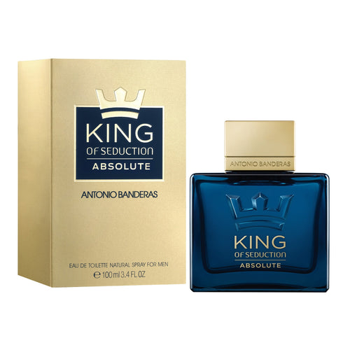 King Of Seduction Absolute Edt 3.4oz Spray