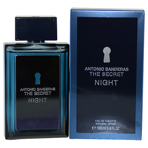 The Secret Night Man Edt 3.4oz Spray