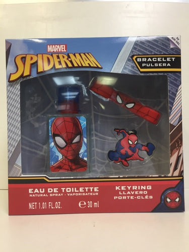 Kids Set Spiderman 3pc Edt 1 oz Spray