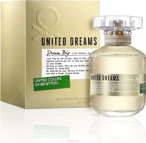 United Dream Big Dream Woman Edt 2.7oz Spray