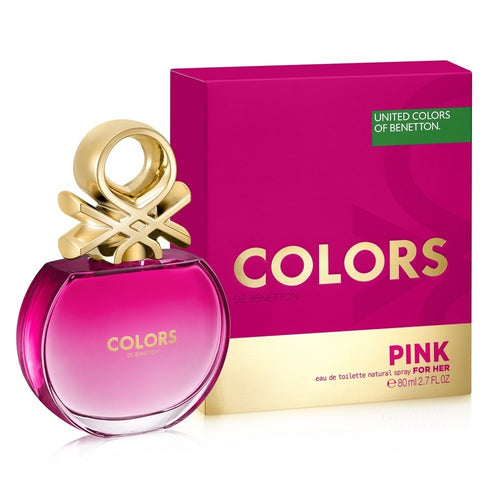 Colors Pink For Her Edt 2.7oz Spray