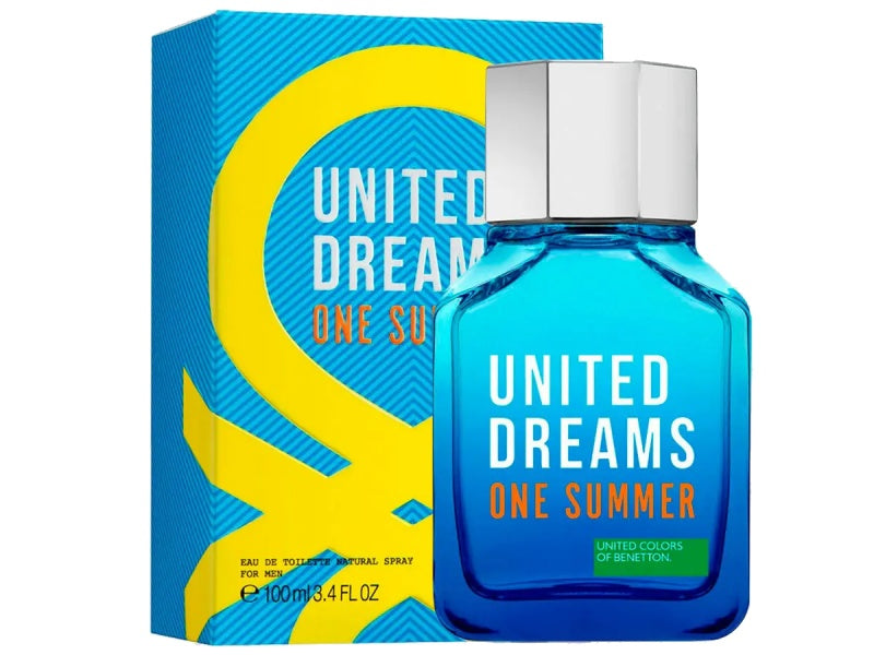 United Dreams One Summer For Him Edt 3.4oz Spray