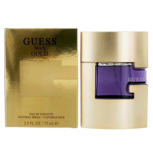 Guess Gold Man Edt 2.5oz Spray