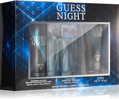 Set Guess Night For Men 3pc. Edt 3.4oz Spray
