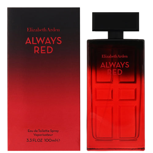 Always Red For Women Edt 3.3oz Spray