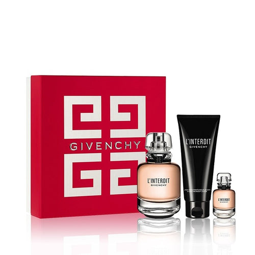Set Givenchy L'interdit 3pc. Edp 2.6oz Spray