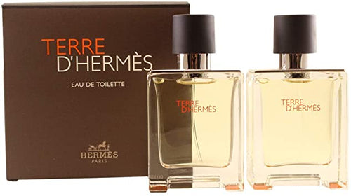 Terre D'Hermes Men Edt 2 x 1.6oz Spray Duo Pack