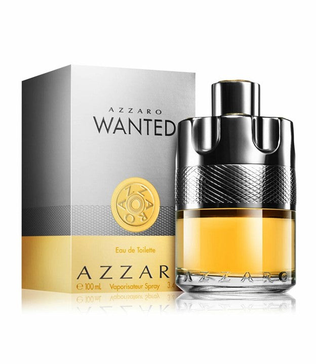 Azzaro Wanted For Men Edt 3.4 oz Spray