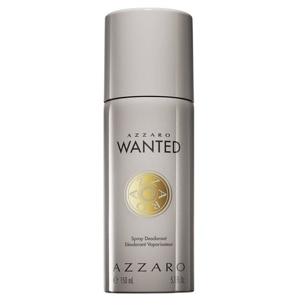 Azzaro Wanted For Men Deodorant Spray 5.1oz