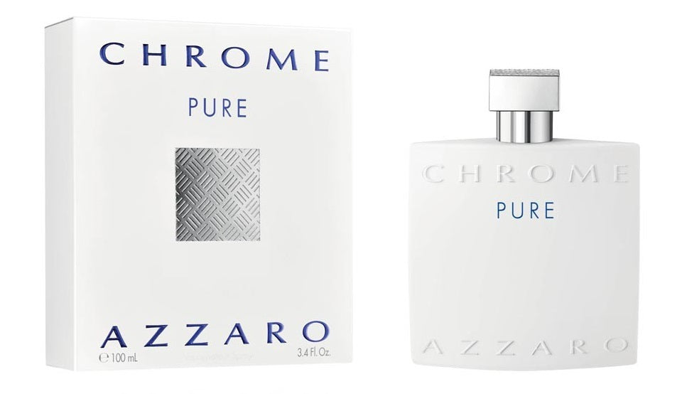 Azzaro Chrome Pure Edt 3.4oz Spray