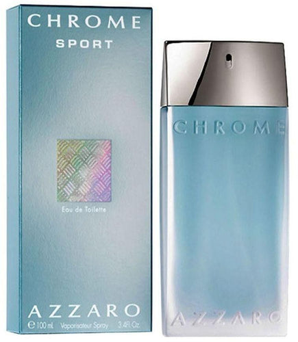 Azzaro Chrome Sport Edt 3.4oz Spray
