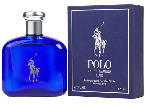 Polo Blue For Men Edt 4.2oz Spray