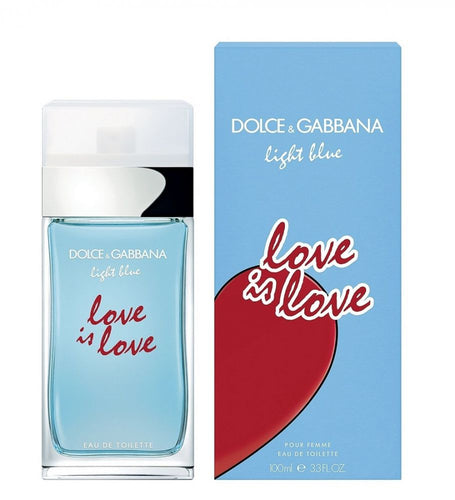 Dolce & Gabbana Light Blue Love is Love For Women Edt 3.3oz Spray