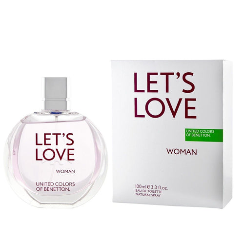 Benetton Let's Love Woman Edt 3.3oz Spray