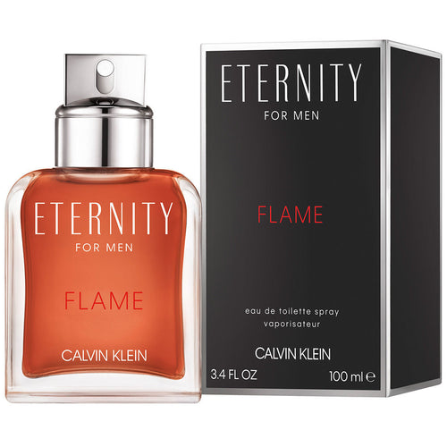 Eternity Flame For Men Edt 3.4oz Spray