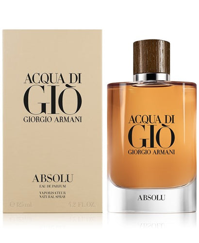 Acqua Gio Absolu For Men EDP 4.2oz Spray