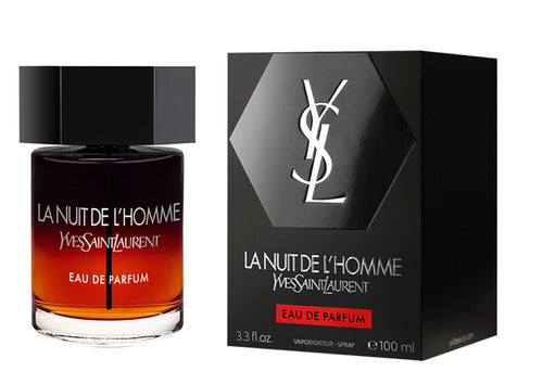 YSL La Nuit De L'Homme Edp 3.3oz Spray