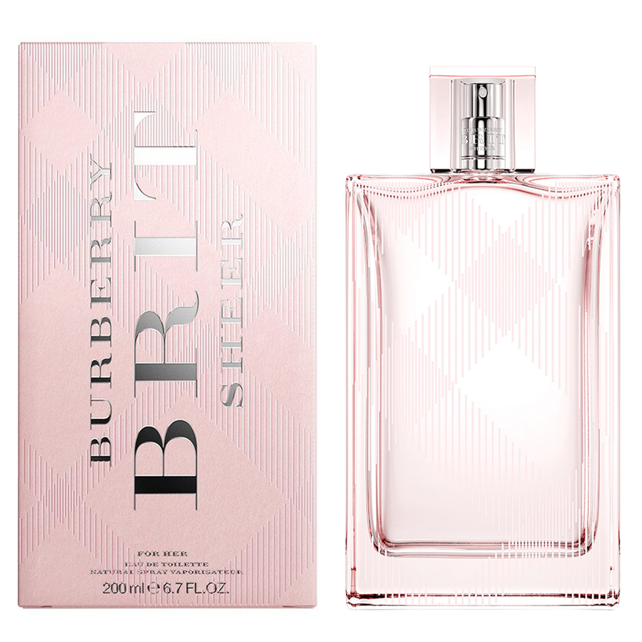 Burberry Brit Sheer For Her Edt 6.7oz Spray