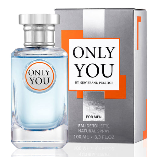 New Brand Only You For Men Edt 3.3oz Spray