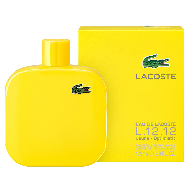 Eau De Lacoste Jaune Men Edt 5.9oz Spray