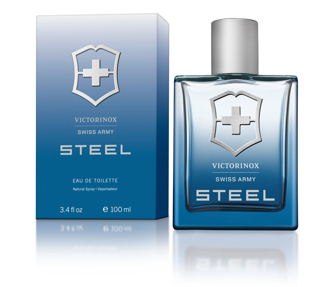 Swiss Army Steel For Men Edt 3.4oz Spray