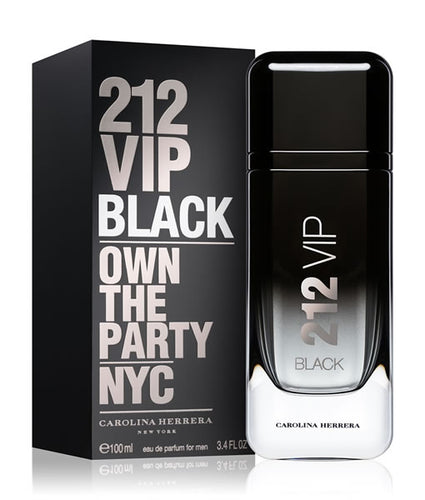 212 Vip Black For Men Edp 3.4oz Spray
