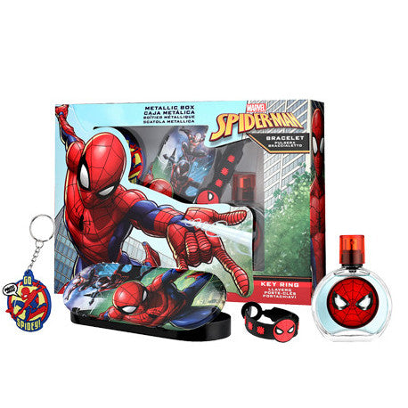 Kids Spider-Man Set 4pc. Edt 1.7oz Spray