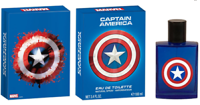 Kids Captain America Edt 3.4oz Spray