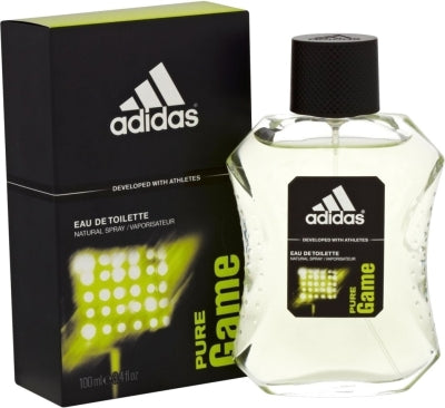 Adidas Pure Game For Men Edt 3.4oz Spray