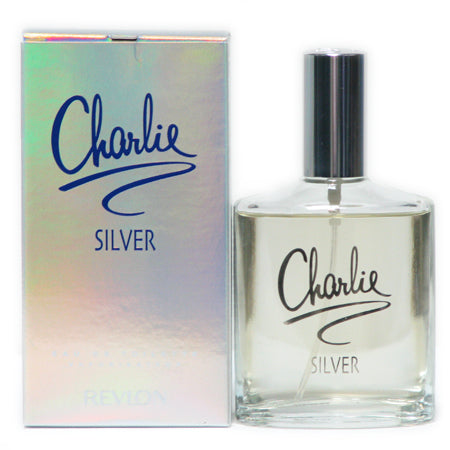 Revlon Charlie Silver Edt 3.4oz Spray