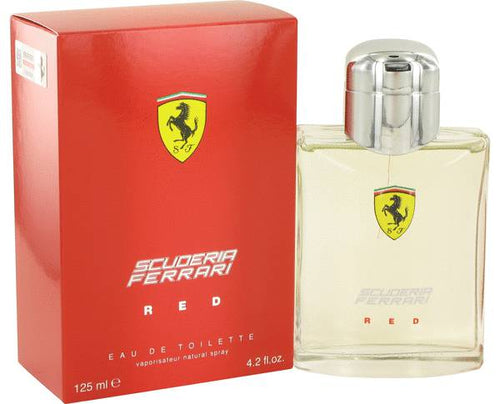 Ferrari Scuderia Red Edt 4.2oz Spray