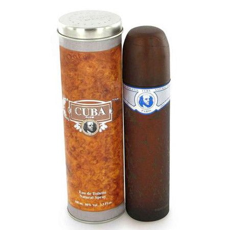 Cuba Blue For Men Edt 3.4oz Spray