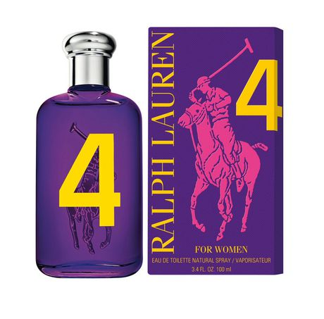 Big Pony #4 Purple Women Edt 3.4oz Spray