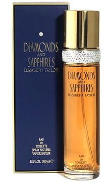 Dimonds And Sapphires For Women 3.4oz Spray