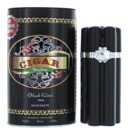 Cigar Black Wood Men Edt 3.4oz Spray