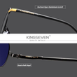 Laden Sie das Bild in den Galerie-Viewer, KINGSEVEN™ - Premium 2020 NF7503 Sonnenbrille (Polycarbonate)