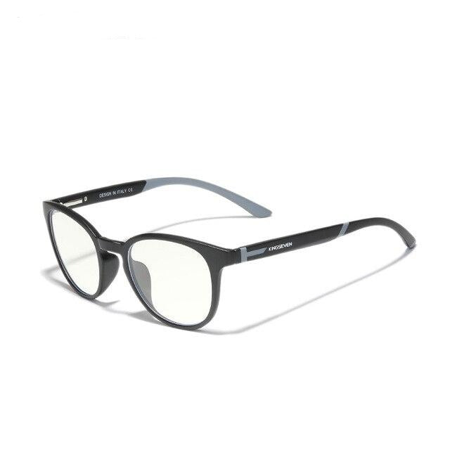 KINGSEVEN™ - 2021 9009A Titanium Blau Licht Blocker Transparent Brille