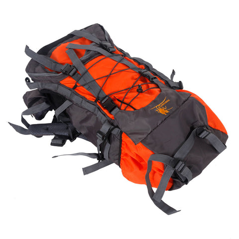 60L Outdoor Backpack Hiking Bag Camping Travel Waterproof Mountaineering Pack