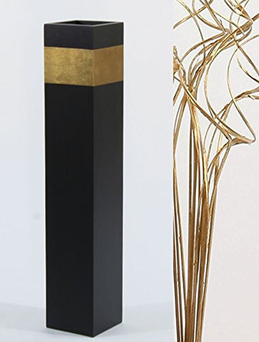 "28"" Slender Rectangle Tall Floor Vase 