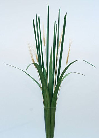 Oceana Palms & Green Cattail Stalks DIY Kit
