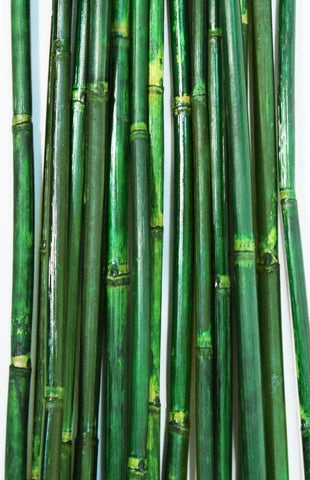 Natural River Cane 4.5 Ft, 3-Tone Green, Pack of 15