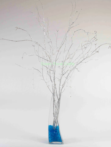 3-4 ft Silver Birch Branches, Bulk (pack 50 Stems) (vase not included)