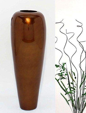 "27"" Bamboo Tapered Floor Vase 