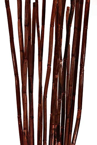 Natural River Cane 6 Ft, 3-Tone Mahogany, Pack of 20