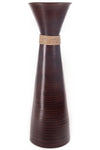 "28"" Plantation Bamboo Floor Vase - Brown"