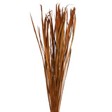 "40"" Tall Dried Grasses (Dried Foliage leaves), 3 Pack of 75 - Autumn Orange Yellow"