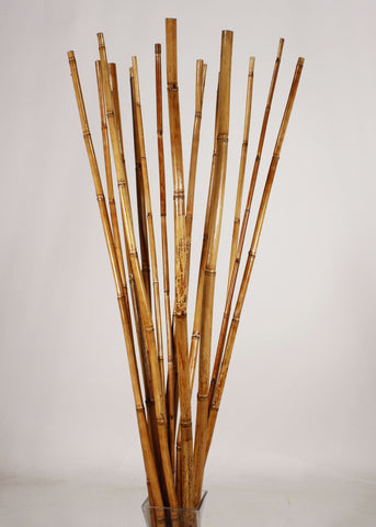 Natural River Cane 4.5 Ft, | Honey, Pack of 15