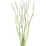 "Natural Palms Twist 40"" Tall Wavy Stems (Curly Branch Sticks), Caspia, Millet- Light Green"