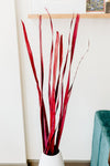 Thick Palm Stalks | Dark Red
